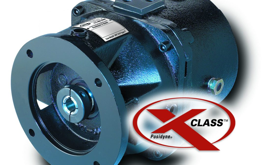 Force Control Posidyne® X Class Clutch Brakes Provide Lowest Cost Per Cycle – Oil Shear Technology Eliminates Maintenance and Adjustment