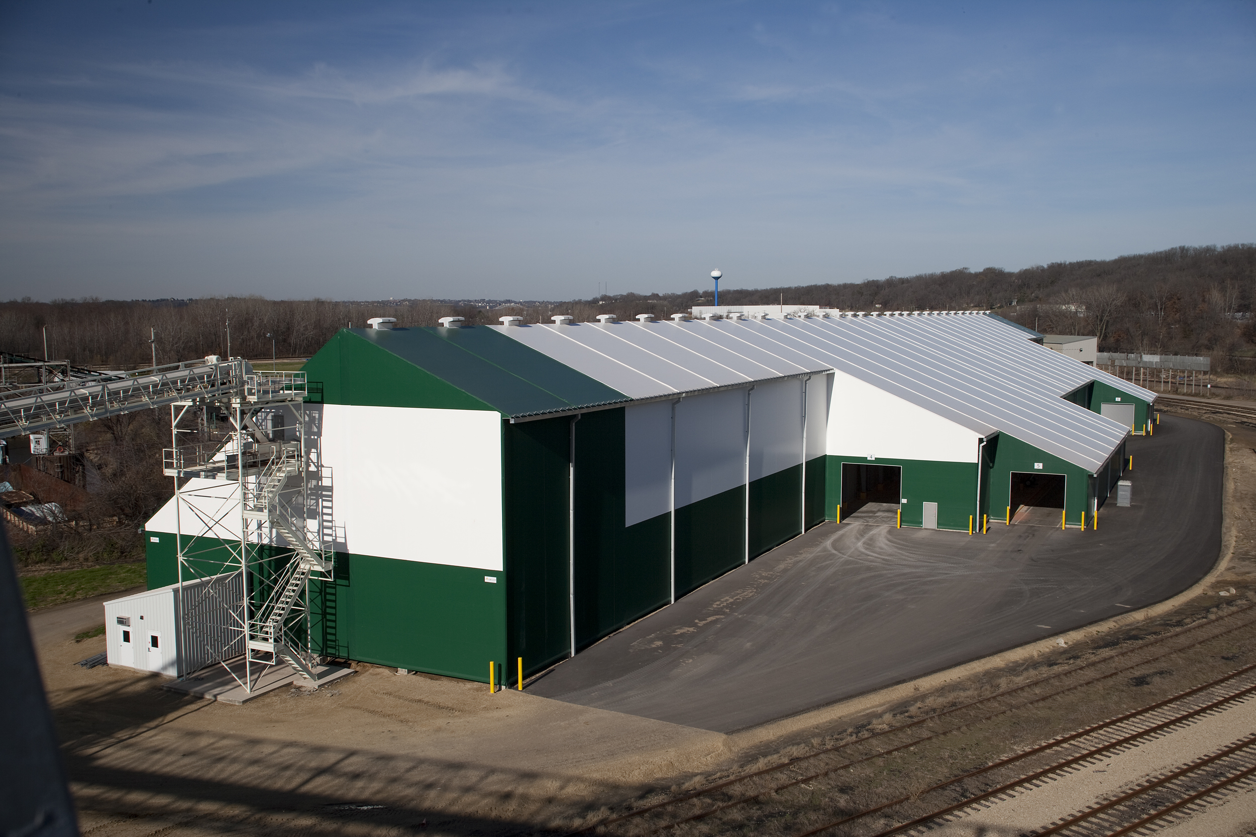 Legacy custom-designed fertilizer storage facility capitalizes on flexibility