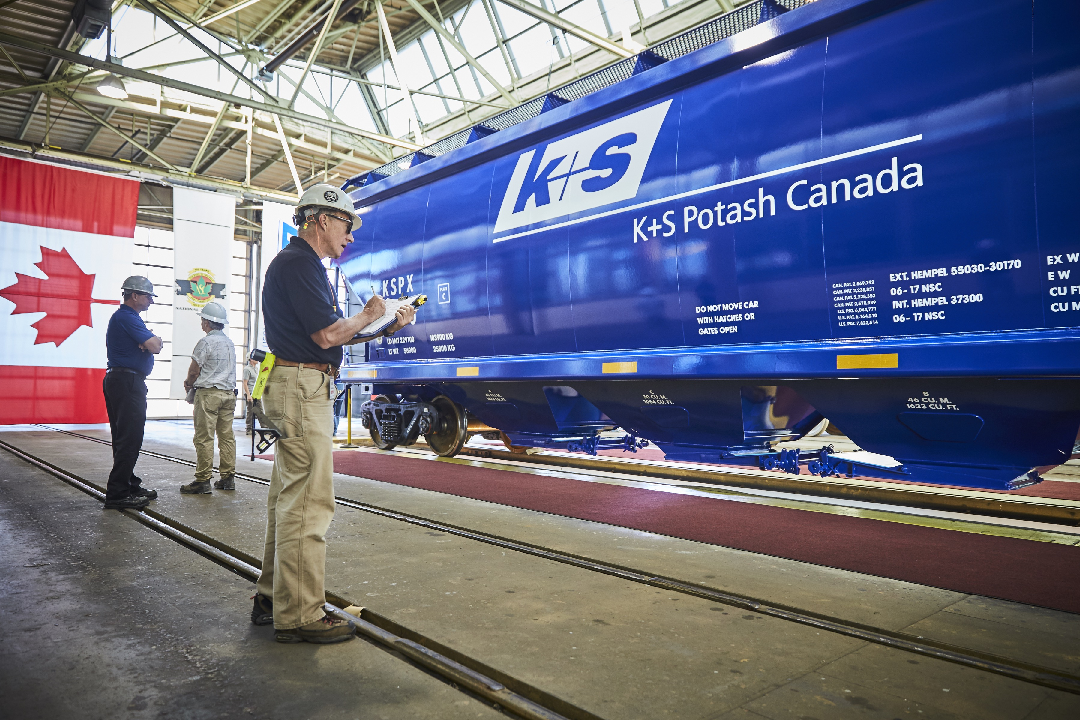 K+S Potash Canada ready to serve North American market as new domestic rail cars are delivered