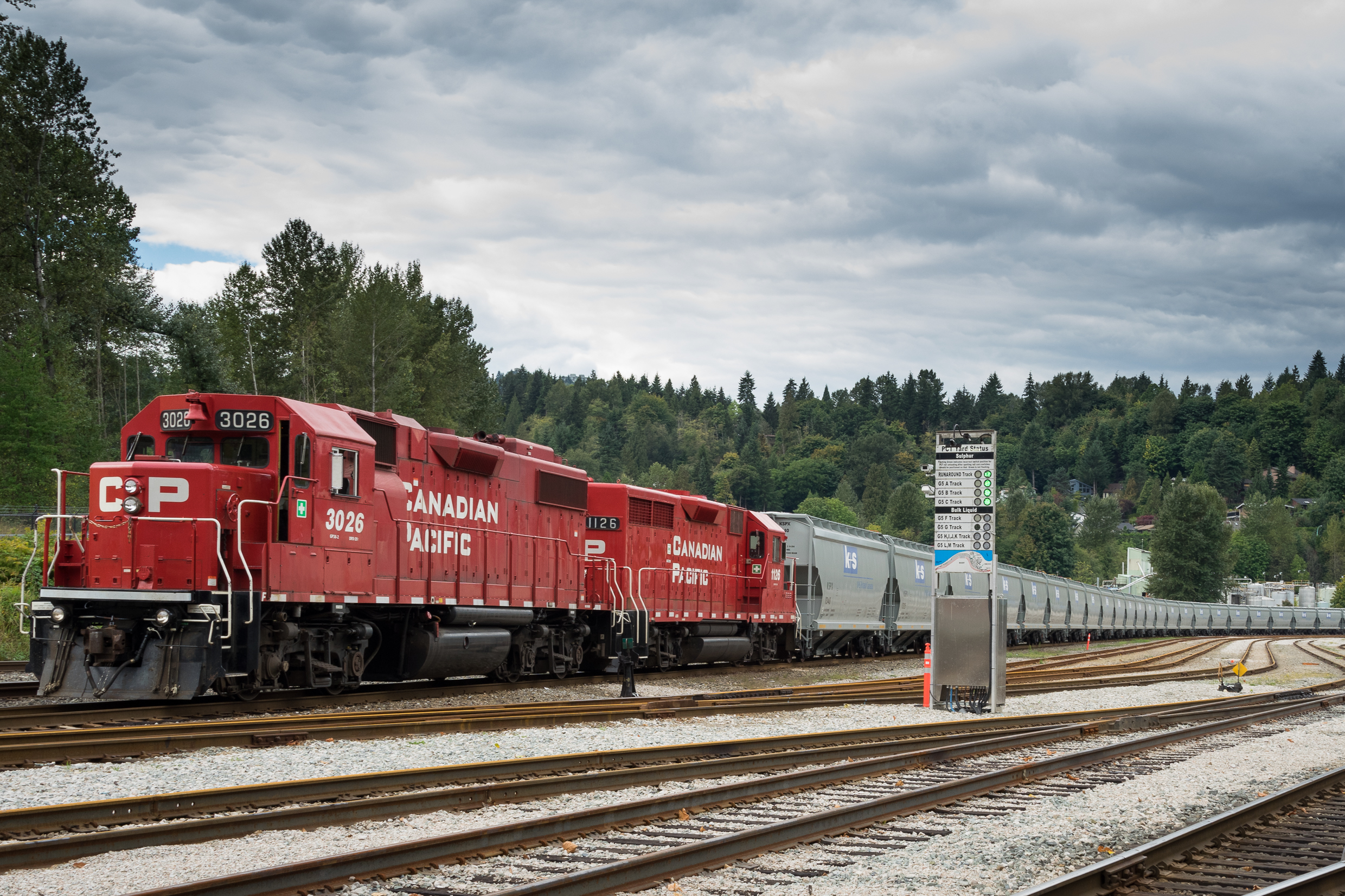 First unit train arrives at KSPC's potash handling and storage facility