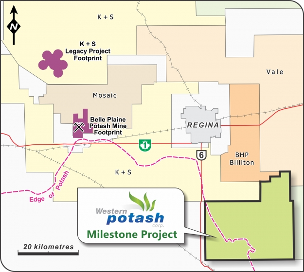 Western Potash Corp. Enters Project Agreement with Rural Municipality of Lajord