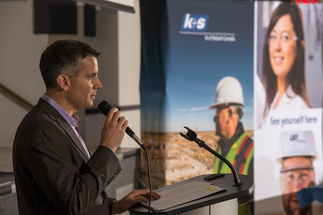 Sam Farris succeeds Dr. Ulrich Lamp as president of K+S Potash Canada