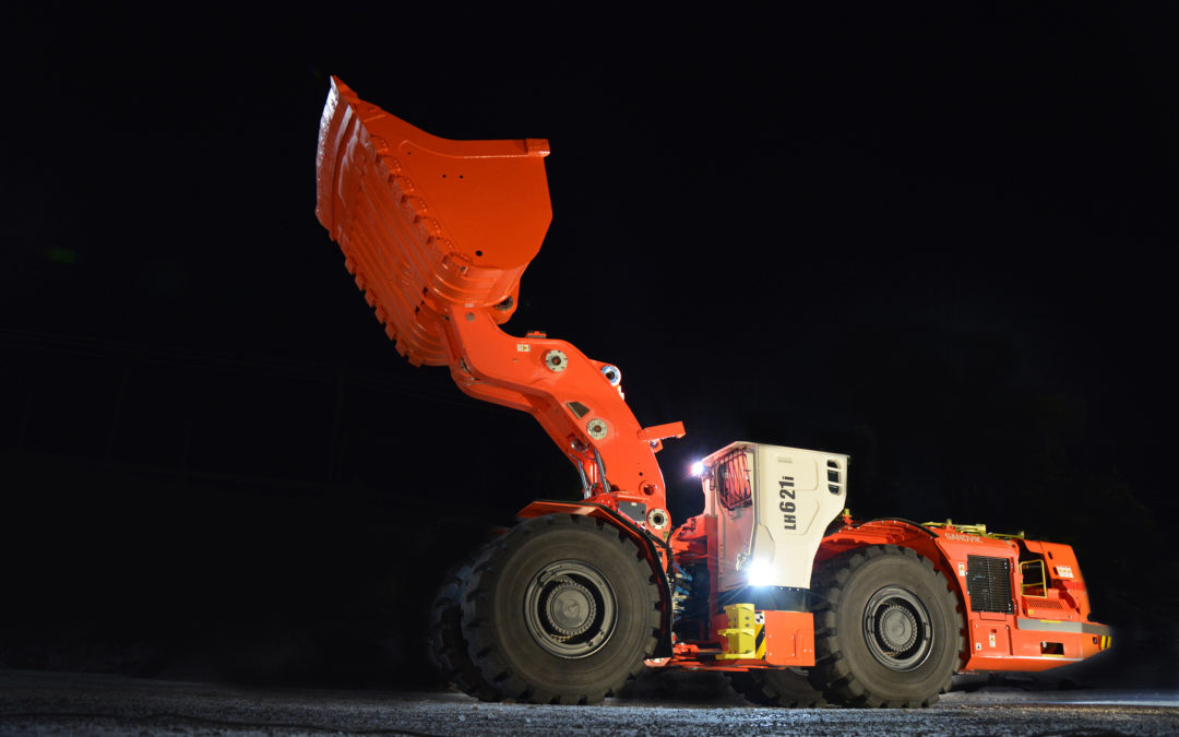 Sandvik introduces a new intelligent loader: Sandvik LH621i for large scale underground production and mine development