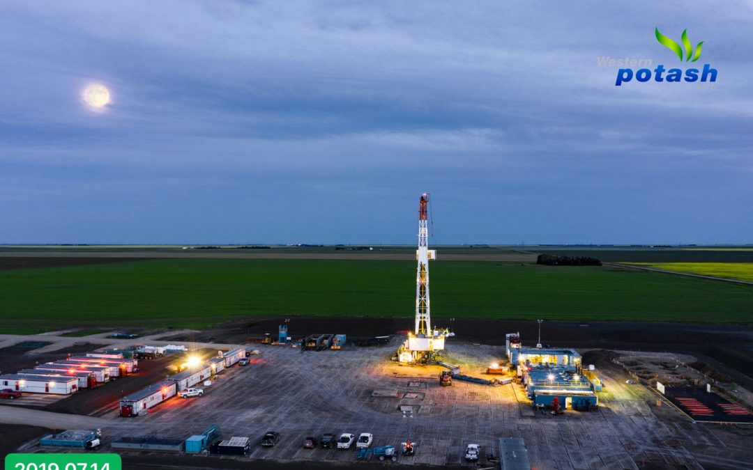 Western Potash Start Of Production Drilling