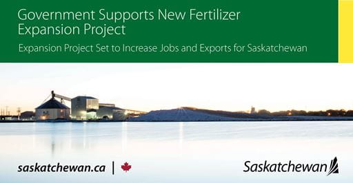 Government supports new fertilizer expansion project